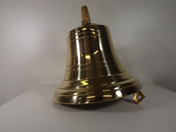 Glocke Messing pol.200 mm